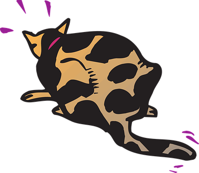 Cat, Startled, Animal, Motion, Shock, Spots, Feline