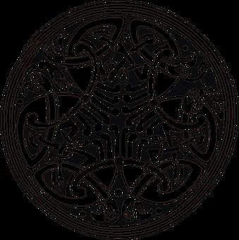 Celtic, Circle, Ornament, Tattoo, Symbol, Decoration