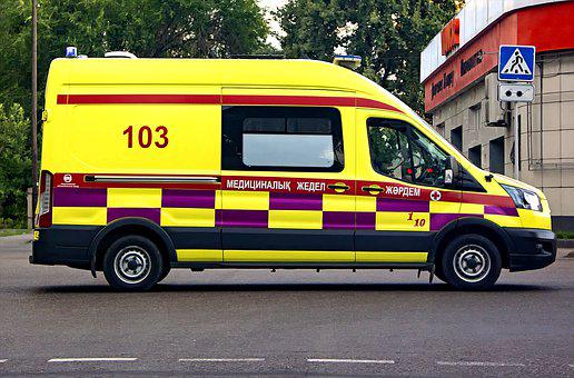 Almaty, Kazakhstan, Ambulance, Covid, Medics, Covid-19