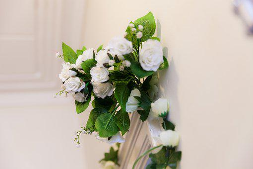 White Flower, Floral Decoration