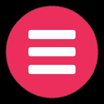 Menu, Button, Home, Icon, Design, Symbol, Sign