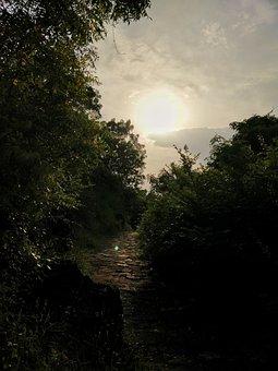 Sunset, Scenery, Landscape, Nature, Sunrise, Lake