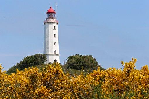 Lighthouse, Coast, Tower, Sea, Sky
