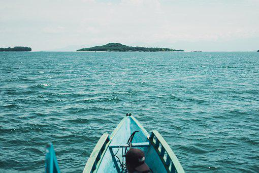 Boat, Sea, Iceland, Indonesia, Bali