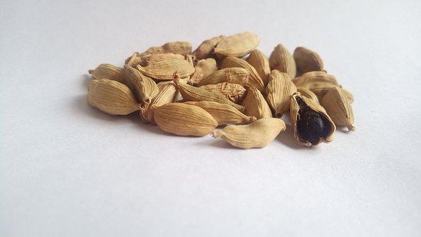 White Cardamom, Herb, Cardamom, Seed