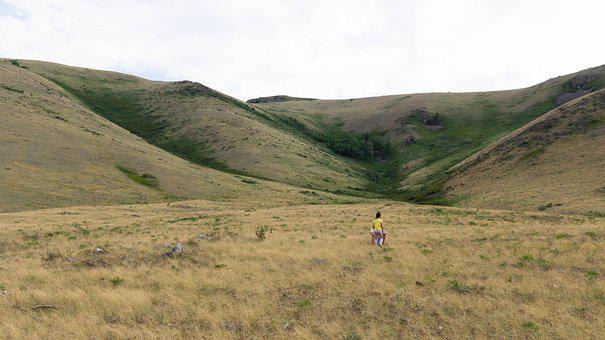 Steppe, Landscape, Semeynogo, Kazakhstan