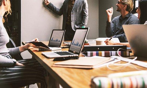 Work, Office, Team, Company, Internet