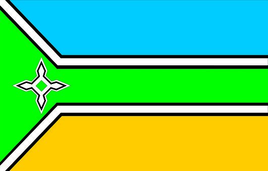 Flag, State, Amapá, Brazil