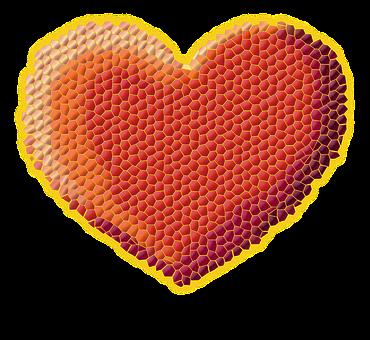 Heart, Valentine's Day, Pixels, Symbol, Clip Art