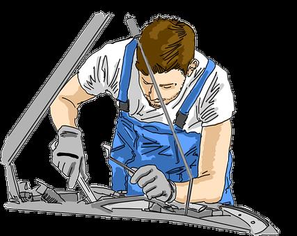Mechanic, Garage, Work, Repair, Service