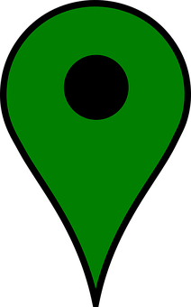 Poi, Location, Pin, Marker, Position, Green, Map