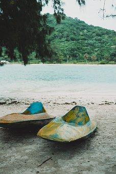 Canoeing, Lombok, Sea, Beach, Vacations