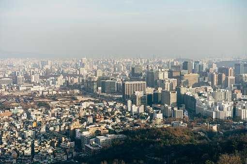 Asia, South Korea, Korean, Seoul, City, Panorama, View