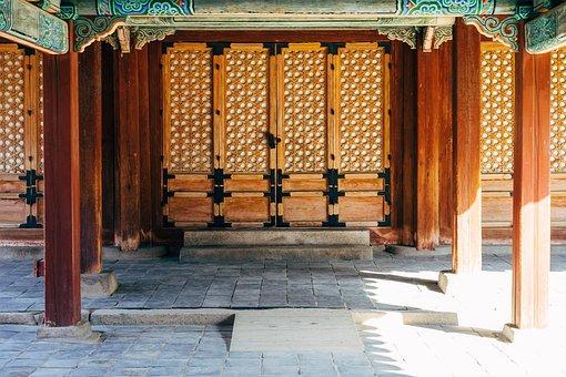 Asia, South Korea, Korean, Input, Door, Palace, Pagoda