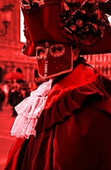 Mask, Venice, Red, Carnival, Carneval, Masked