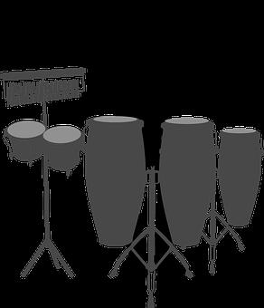 Conga, Drum, Bongo, Player, Music