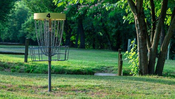 Disc Golf, Frisbee Golf, Basket, Sport, Frisbee