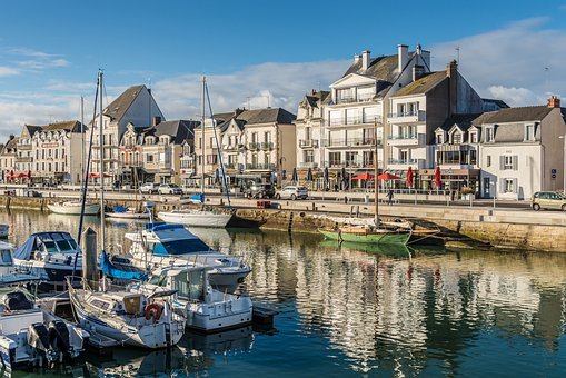 Sea, France, Travel, Boat, Vacation, Blue, Summer, Sky