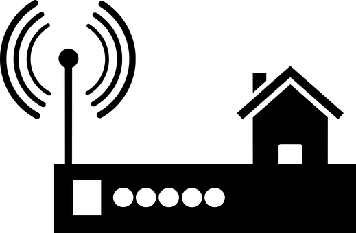 Router, Wifi, Silhouette, Wi Fi