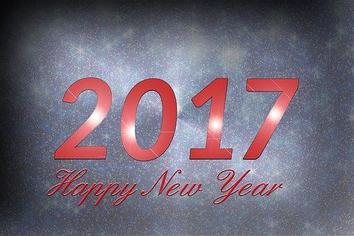 Happy New Year, 2017, Happy 2017, New, Year, Greeting