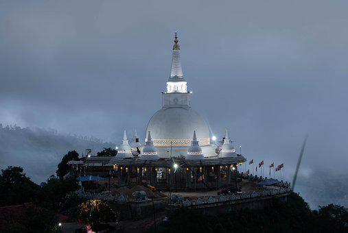 Vesak, Stupa, Pagoda, Wat, Temple