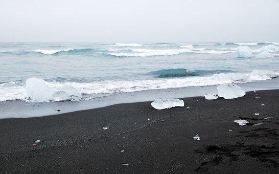 Beach, Sea, Water, Ocean, Sand, Wave