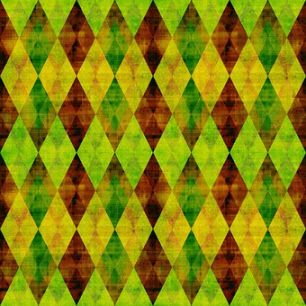 Rhomboid, Rhombus, Checkered, Mosaic, Shape, Dramatic