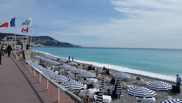 French Riviera, Nice, France, Tourism, City, Sea