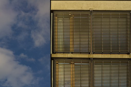 Building, Sky, Clouds, Architecture, Modern, Glass