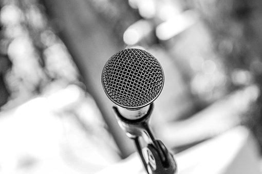 Microphone, Condenser, Podcast, Music, Audio, Sound