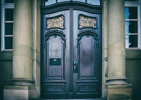 Door, Input, Building, House, Architecture, Closed