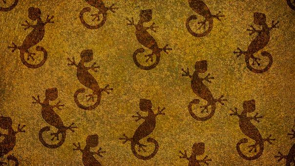 Animal, Lizard, Reptile, Dramatic