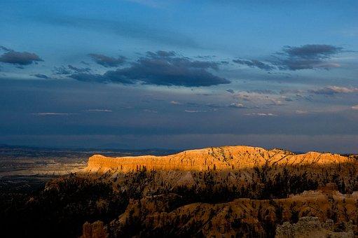 Canyon, Desert, Arid, Sunrise, Landscape