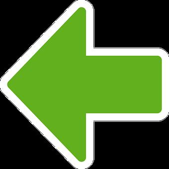 Green, Arrow, Left