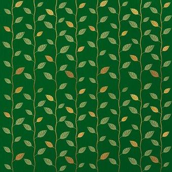 Scrapbook, Scrapbooking, Pattern, Paper, Leaves