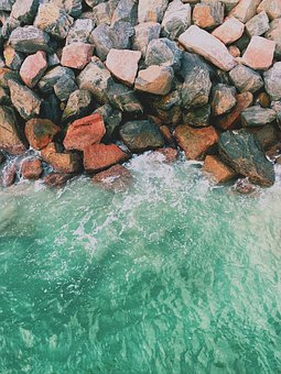 Water, Pool, Blue, Sea, Texture, Summer