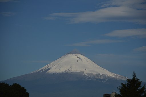 Popocatepetl, Volcano, Mexico, Peak, Nevado, Nature