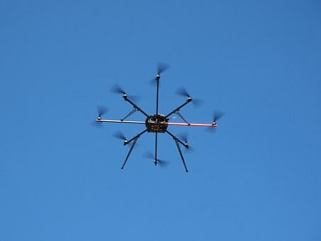 Drone, Helicopter, Aircraft, Flying, Technology