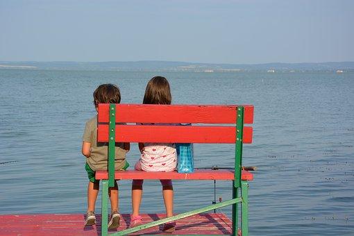 Children, Lake, Web, Romance, Leisure, Bank, Vacations