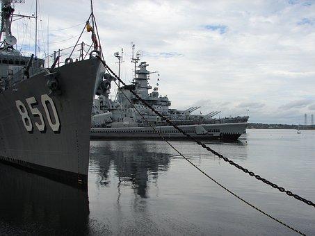 Battleship, Cove, Fall River, Massachusetts, Joseph