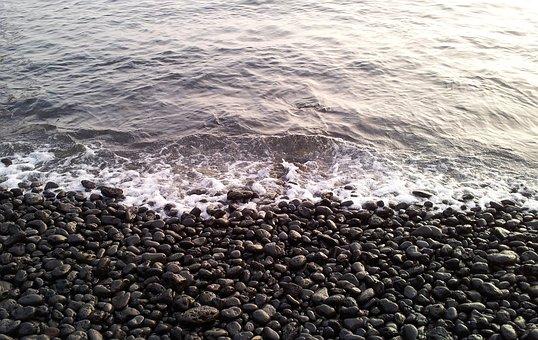 Black, Beach, Pebble, Pebble Beach, Kam Black