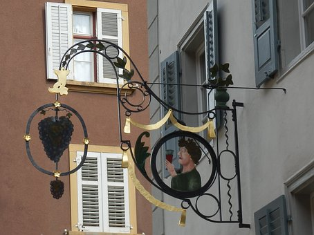 Guest House Shield, Grapes, Gasthof, Blacksmithing
