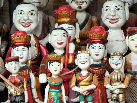 Booed, Palace Literature, Puppets