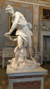 Bernini, Galleria Borghese, Borghese, Rome, David