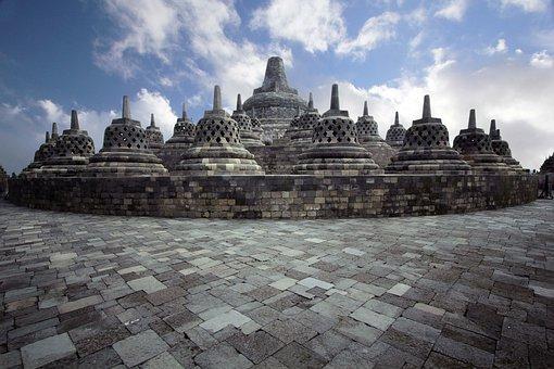 Indonesia, Borobudur, Central Java, Java