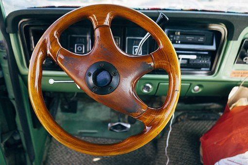 Steering Wheel, Car, Interior, Steering, Drive, Driving