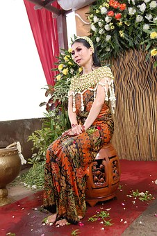 Beauty Girl, Nature, Woman, Bride, Traditional, Clothes
