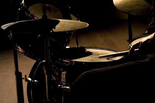 Drums, Live, Dancing, Entertainment, Band, Cymbal
