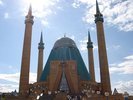 Mosque, Azerbaijan, Islam, Faith, Religion