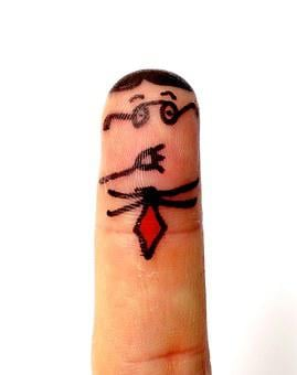 Finger Man, Don't Talk, Finger, Males, Person